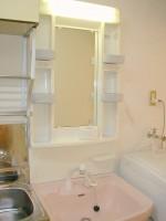 シャワー洗面台